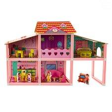Lėlių namas Euro Vaikas Rožinis
