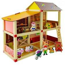 Lėlių namas Euro Vaikas Ferma