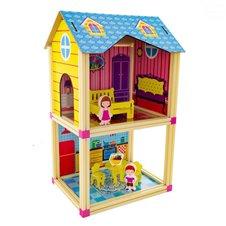 Lėlių namas Euro Vaikas Mėlynas