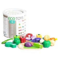 Daržovių rinkinys Eko Žaislas TL87113, 20 el.