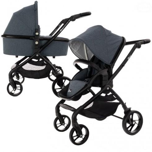 Universalus vežimėlis Euro Vaikas WINNER Grey/Graphite 2in1