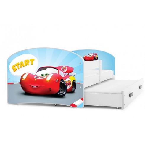 Dvivietė lova Lukas su paveiksliuku 160x80