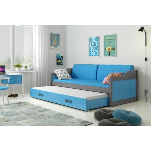 Двухместная кровать DEIVIDAS 190*80