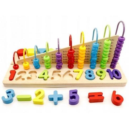 Lavinamasis žaislas Eko Žaislas Išmok skaičiuoti