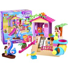 JDLT colorful Bricks BEACH HOUSE 58ele ZA2886