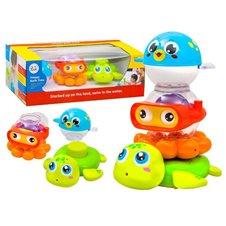 Vonios žaisliukų rinkinys ZA1985