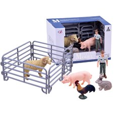 Sheep Pig Rabbit Farm animals ZA2603