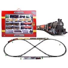 Elektrinis traukinys su vagonais  996 cm ilgio trasa RC0462