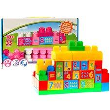 Mokomieji kubeliai Išmok skaičiuoti 35 dalių  ZA0623