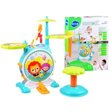 Hola Music drums interactive toy ZA2833