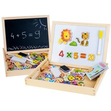 Wooden Magnetic chalk plate + akc TA0072