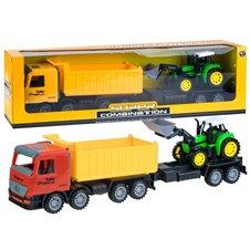 Sunkvežimis su traktoriumi ZA2031