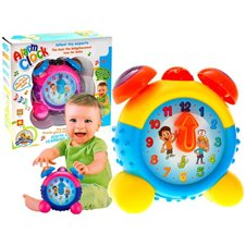 Clock kids light sound toy FOR 1753