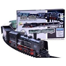 Elektrinis traukinys su vagonais  RC0448