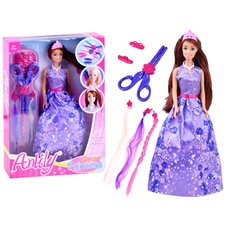 Anlily Fairytale Doll princess hairdresser ZA2809