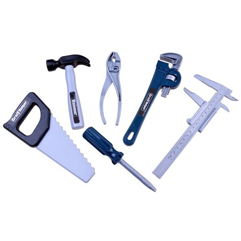 Darbo įrankių rinkinys su šalmu 17 dalių  ZA2523
