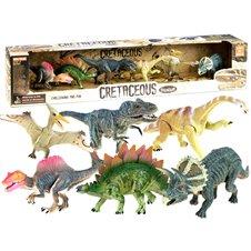 Set of DINOZAURA dinosaurs painted with 6 pcs ZA2051