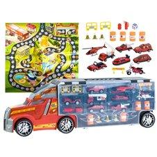Sunkvežimis su mašinėlėmis + priedai ZA2359