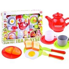 Tea set, breakfast plates, cups ZA2977