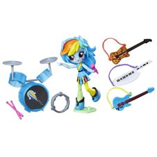 Hasbro Ponytail MLP Equestria action figure set ZA3048