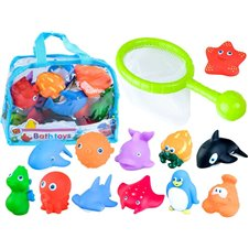 Bath set animal rubber strainer ZA2078