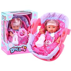 Doll + Baby carrier ZA0453