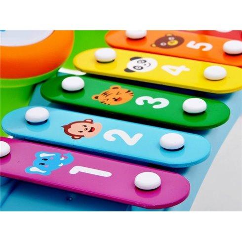 Vaikiškas ksilofono komplektas IN0036