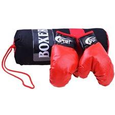 Vaikiška bokso kriaušė su pirštinėmis + krepšys  SP0565