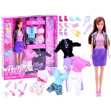 Anlily Doll with clothes outfits shoes accessories ZA2457