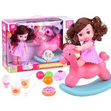 Baby doll + POLE HORSE accessories ZA2927