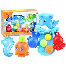 Whale bath toy + ZA2936 cups