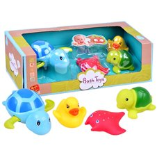 Colorful animals Bath toys 4 pcs ZA2812