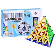 Magnetinis konstruktorius  Magnasitx 188 dalių  ZA00188