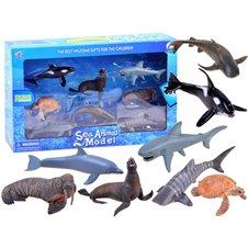 Jūrų gyvūnų figurėlių rinkinys ZA2986