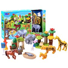 Building blocks ZOO animals 51 pieces ZA2585