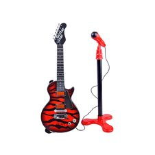 Rock Guitar with microphone for child IN0105