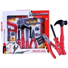 Vaikiški darbo įrankiai  20 dalių ZA2405