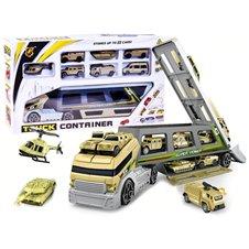 Kariuomenės sunkvežimis + 8 mašinėlės ZA2354