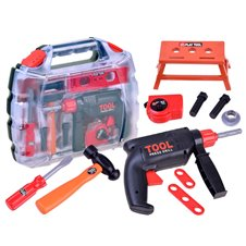 Žaislinis įrankių rinkinys + priedai ZA2894