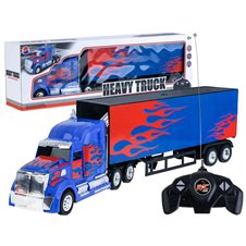 Nuotoliniu būdu valdomas sunkvežimis su priekaba  RC0412