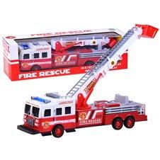 Žaislinis gaisrinės automobilis su garso efektais ZA 2396
