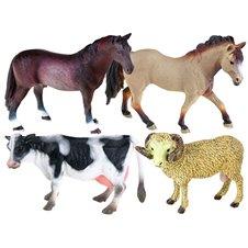 Animals with FARMY figurine Horse Cow Aries ZA2223