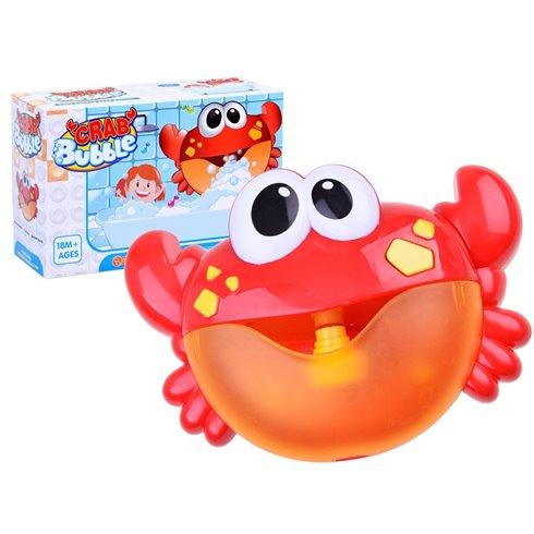 Burbulus pučiantis vonios žaislas Krabas PTP02687