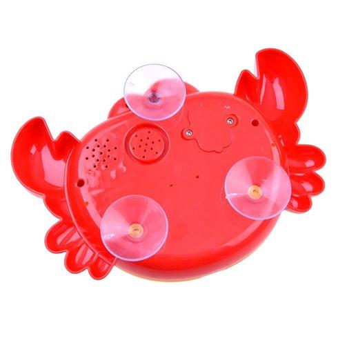 Burbulus pučiantis vonios žaislas Krabas ZA2687
