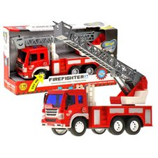 Fire Brigade with sliding ladder light ZA1644