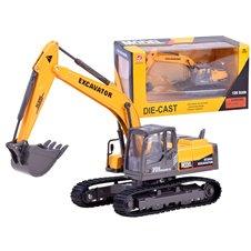 Metal excavator caterpillars light sound ZA3067