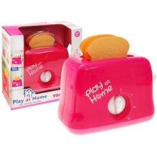 Žaislinis rožinis skrudintuvas ZA1654