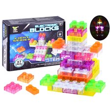 Glowing bricks Small electronics 37 pieces. ZA3078