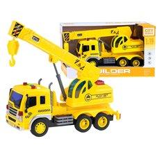 Žaislinė mašina su kranu ir garsais ZA2203