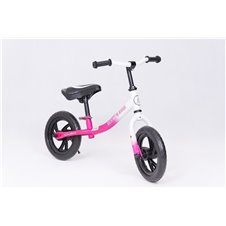 Balansinis dviratukas TM 12' EVA Pink/White